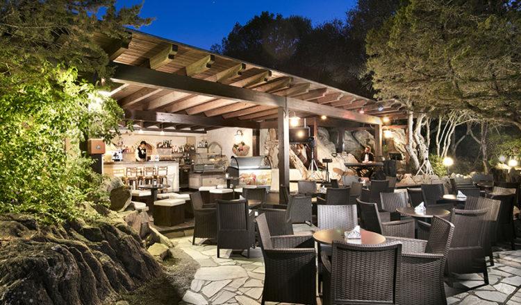 Bar della piscina panoramica